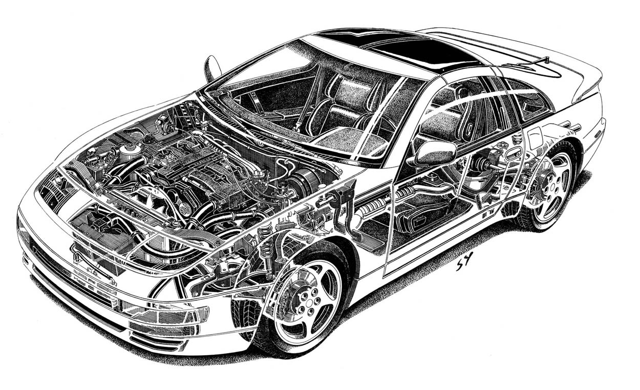 Nissan 300zx twin turbo images - lumia 720 white images
